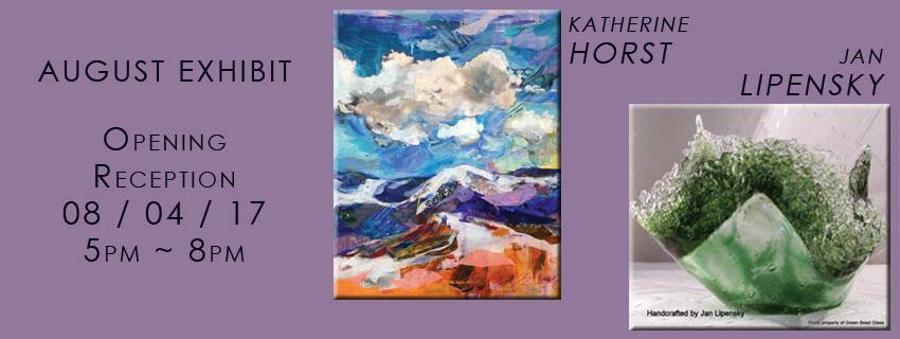 First Friday Artist's Reception: Katherine Horst & Jan Lipensky