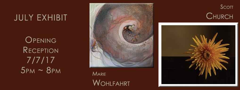 First Friday Artist's Reception: Scott Church & Marie Wohlfahrt