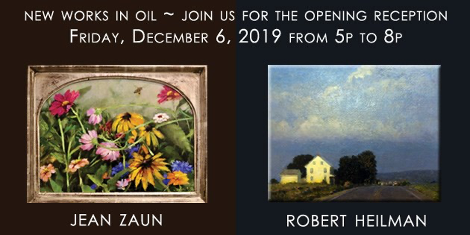 NEW WORK BY NATIONALLY RECOGNIZED LOCAL ARTISTS HEILMAN AND ZAUN ON VIEW AT LEBANON PICTURE FRAME