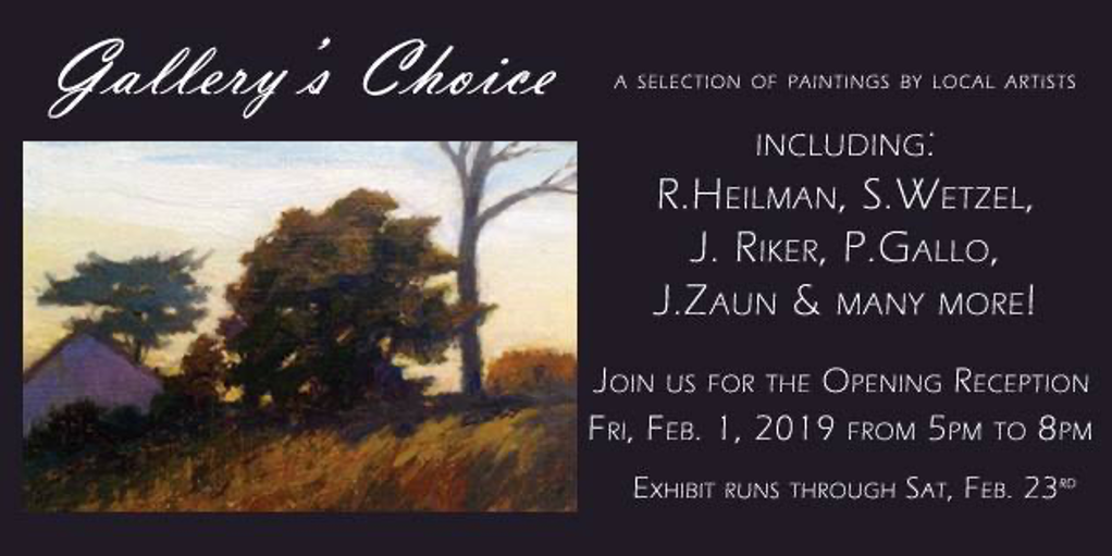GALLERY'S CHOICE: A CELEBRATION OF THE BEST ARTISTIC TALENT IN THE LEBANON VALLEY AT LEBANON PICTURE FRAME & FINE ART GALLERY
