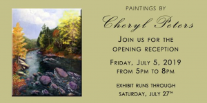 Songs of Peace, Beauty and Tranquility: Impressionist Paintings by Cheryl Peters