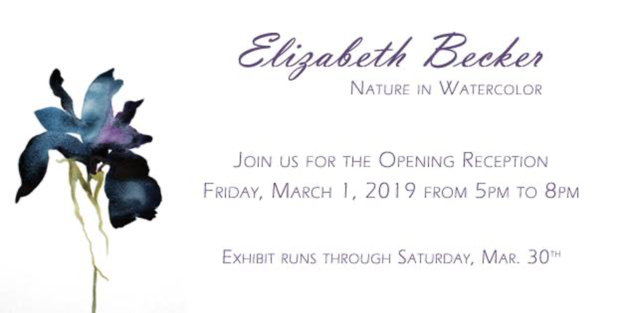 An Act of Surrender:  Lush Works of Watercolor by Elizabeth Becker